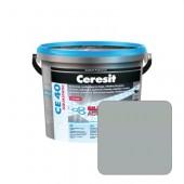 Затирка для швов Ceresit CE40 №10 манхэттен, 2 кг