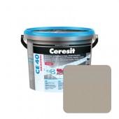 Затирка для швов Ceresit CE40 №07 серая, 2 кг