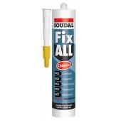 Клей-герметик гибридный Soudal Fix All Classic, 290 мл