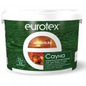 Лак EUROTEX-САУНА для бань и саун 2.5 кг