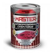 Эмаль для металлопрофиля RAL 6005 Farbitex Profi Master, 0,9 кг