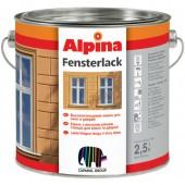 Эмаль для окон и дверей Alpina Fensterlack, 2.5 л