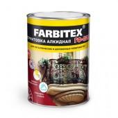 Грунтовка ГФ 021 Farbitex красно-коричневая, 0,9 кг.
