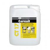 Грунтовка желтая Ceresit CT17 ProfiGrunt 10 л.(концентрат)