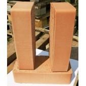 Кирпич керамический рядовой полнотелый одинарный (Оболь)