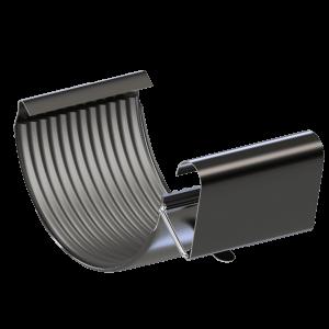 Соединитель желоба  KROP 125/90 сталь,шт.