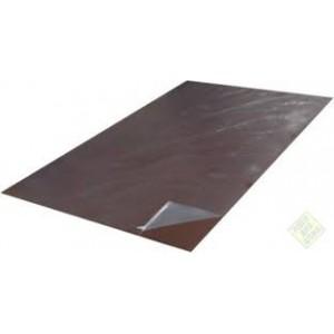 Лист плоский двухсторонний с полимерным покрытием глянцевый 0,4х1250х2000 мм, 2,5 м2