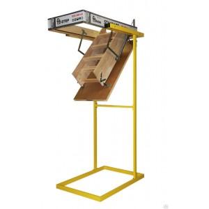 Лестница деревянная складная Docke Dacha 60x120x280 см