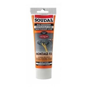 Клей монтажный Soudal Montage Fix, 250 мл