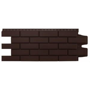 Панель фасадная полипропиленовая Клинкерный кирпич коричневый, шт