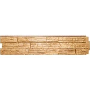 Панель фасадная Крымский сланец, цвет песок, шт