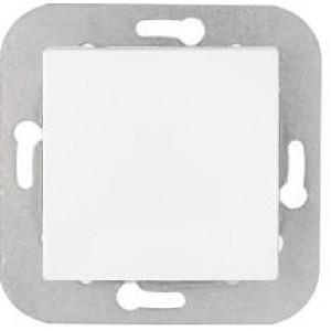 Выключатель одноклавишный скрытой установки C1 10-550 белый, шт