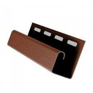 Планка J-trim VOX коричневая, шт
