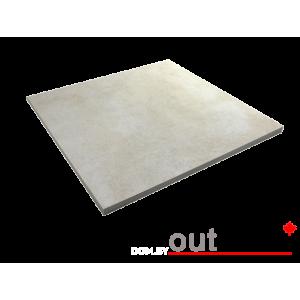 Плитка из керамогранита Outdoor белая ales 600*600*20мм, м2