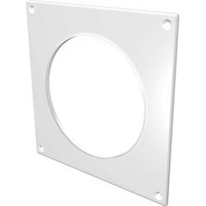 Накладка торцевая пластик 150х150, для воздуховода D100 (10НКП) ЭРА белая, шт.