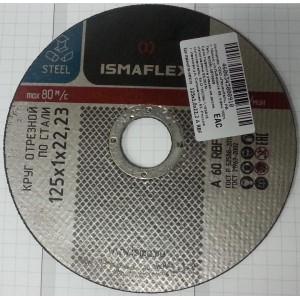 Круг отрезной по стали Ismaflex 230х2,5х22,23 мм