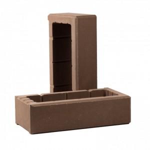Элемент облицовочной опалубки «Т-блок» (ТБЛОК-С5) Рубелэко шоколад, шт