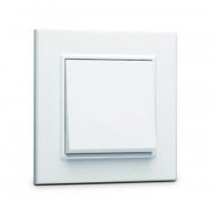 Выключатель одноклавишный Makel Karea 56001001 белый