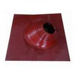 Проходник кровельный угловой Мастер Флеш красный (180-280 мм), шт