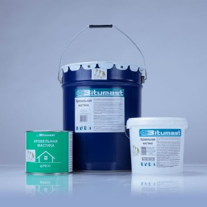 Мастика битумно-полимерная холодная Bitumast, 4,2 кг