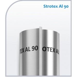 Пленка пароизоляционная метализированная STROTEX AL90, 75 м2