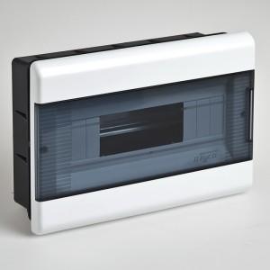 Щиток для скрытой проводки с горизонтальной дверцей 68112 Рувинил белый
