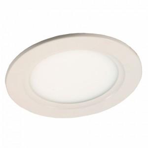 Светильник светодиодный встраиваемый круг DL10C WH 10W 6000K белый