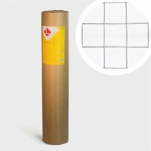 Сетка сварная оцинкованная D0,8мм; яч.12,7х12,7мм Lihtar, 5 м2