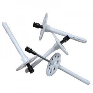 Дюбель зонт + металлический гвоздь с термоголовкой 10 x 140 мм,1000 шт
