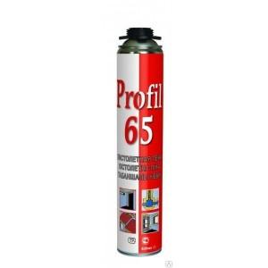 Пена монтажная профессиональная Soudal Profil 65, 820 мл