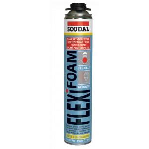 Пена монтажная профессиональная Soudal Flexifoam, 750 мл