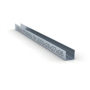 Профиль направляющий UD 27х28мм Knauf ,толщина 0,6 мм