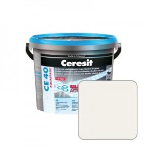 Затирка для швов Ceresit CE40 №01 белая, 2 кг