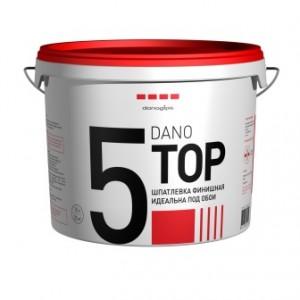 Шпатлевка готовая к применению DANO TOP 5, 3,5 л