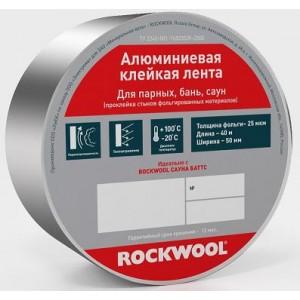 Лента алюминиевая Rockwool 100мм х 40м, шт