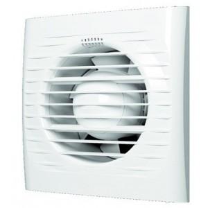 Вентилятор осевой вытяжной со шнуром 150х150мм D-100 мм ERA OPTIMA 4-02, шт