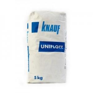 Шпатлевка гипсовая для заделки стыков ГКЛ Knauf Uniflott, 5 кг